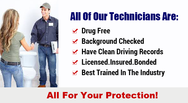 background checked plumbers irvine