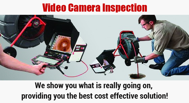 Video Camera Inspection Irvine Plumbing Champions
