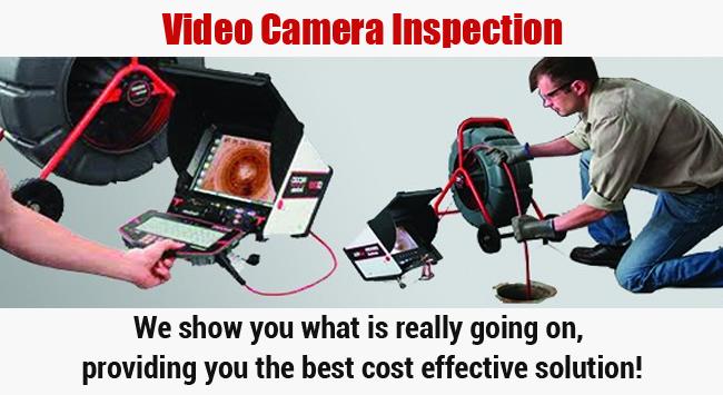 Video Camera Inspection Irvine Plumbing Champions
